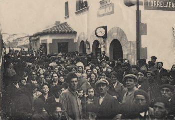 Inauguración estación Torrelapaja