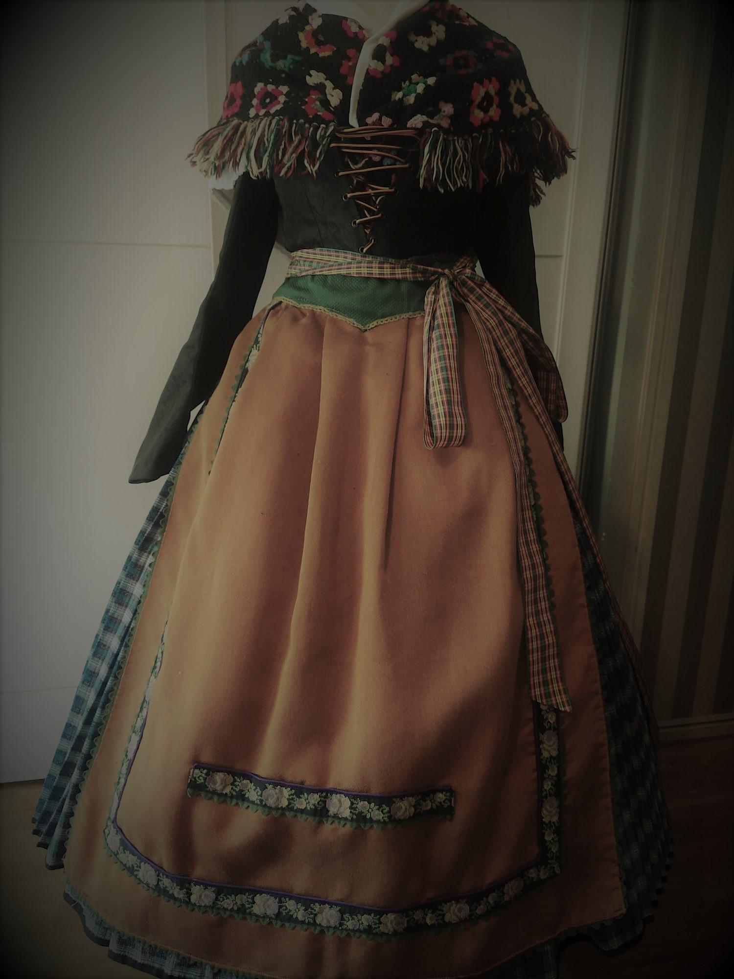 traje pirineo aragonés